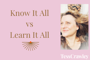 Know It All vs Learn It All
